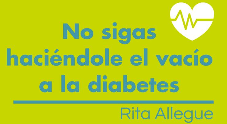 No sigas haciéndole el vacío a la diabetes